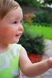 mały dziewczyna uśmiech Zdjęcie Stock