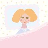 mały dziewczyny dosypianie ilustracji