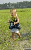 mały dziewczyny kichnięcie Fotografia Royalty Free