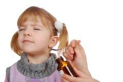mały dziewczyny naughtiness Zdjęcie Stock