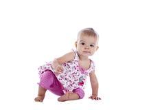 mały dziewczyny przepędzanie Zdjęcie Stock
