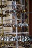 Mały dzwonu zrozumienie w świątyni Obrazy Royalty Free
