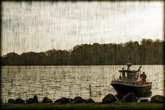 Mały fishingboat zbliżenie Zdjęcie Royalty Free