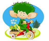 Mały Gnom - ogrodniczka Fotografia Stock