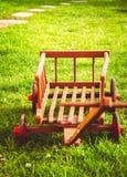 Mały handcart w wiośnie zdjęcie stock