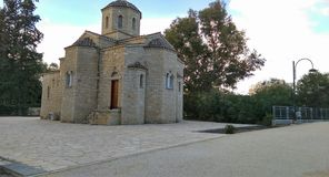 Mały i elegancki kościół w Nicosia Obrazy Stock