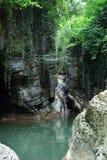 Mały jezioro między skałami Obraz Royalty Free