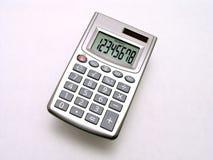 mały kalkulator 2 słonecznego Zdjęcie Royalty Free