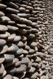 Mały kamień wykładający izoluje tło Obraz Royalty Free
