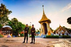 mały Królewski crematorium dla przepustki królewiątka Tajlandia Zdjęcie Royalty Free