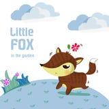 Mały lis royalty ilustracja