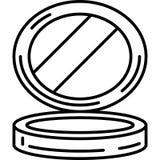 Mały Lustrzany ikona wektor ilustracja wektor
