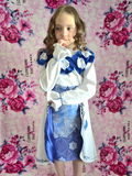 Mały młody princess Obraz Royalty Free