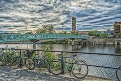 Mały most Atwater rynek fotografia royalty free