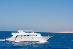 mały oceanu jacht fotografia stock