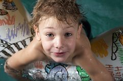 mały pływak Obrazy Royalty Free