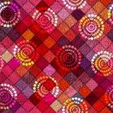 Mały patchwork ilustracja wektor