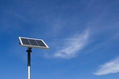 Mały photovoltaic panel Obrazy Royalty Free