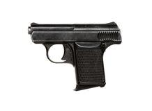 Mały pistolet odizolowywający Obrazy Stock