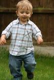 mały pitch chłopca Fotografia Stock