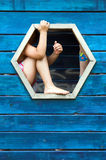 mały plac zabaw Zdjęcie Stock