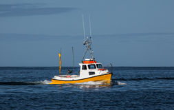 mały połowowych łodzi Obraz Royalty Free