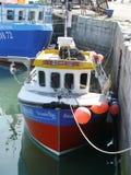 mały połowowych łodzi obrazy royalty free