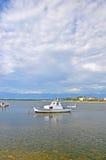 mały połowowych łodzi zdjęcie stock