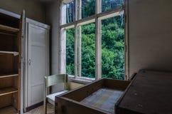 mały pokój w monasterze obrazy stock
