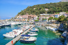 Mały port Maratea obraz royalty free