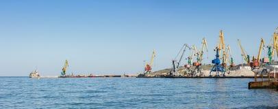 Mały port morski Zdjęcie Royalty Free