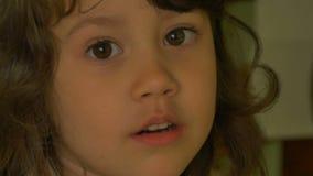 mały portret dziewczyny zbiory wideo