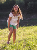 mały portret dziewczyny Obraz Stock