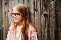 mały portret słodką dziewczynę zdjęcia stock
