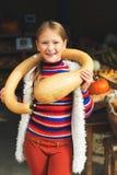 mały portret słodką dziewczynę Zdjęcie Royalty Free