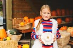 mały portret słodką dziewczynę Fotografia Stock