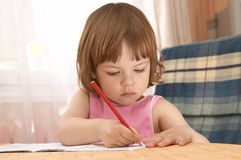 mały preschooler fotografia royalty free