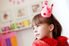 mały princess Zdjęcie Stock