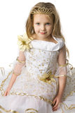 mały princess obrazy royalty free