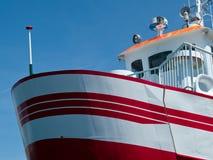 mały promu łódkowaty prow Obraz Stock