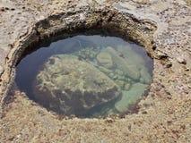 Mały przypływu basen Obrazy Royalty Free