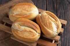 Mały pszeniczny chleb obraz stock