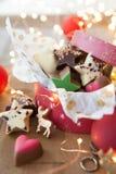 Mały pudełko czekolady Obraz Royalty Free