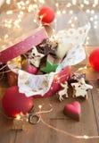 Mały pudełko czekolady Zdjęcia Stock