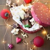 Mały pudełko czekolady Fotografia Royalty Free