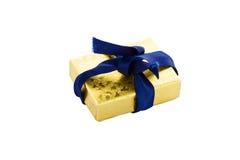 mały pudełkowaty prezent Fotografia Royalty Free