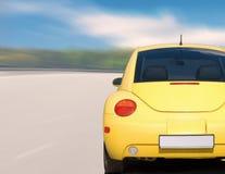 mały racera żółty fotografia royalty free