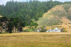 Mały rancho w północnym Kalifornia, usa Zdjęcie Royalty Free