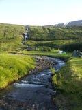 Mały rzeczny camping zdjęcie stock