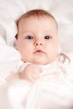mały salowy dziewczyna portret zdjęcia stock